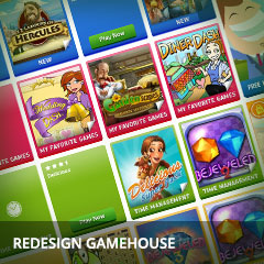 Redesign Gamehouse