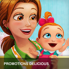 Promotions Delicious game