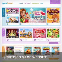 Schetsen game website